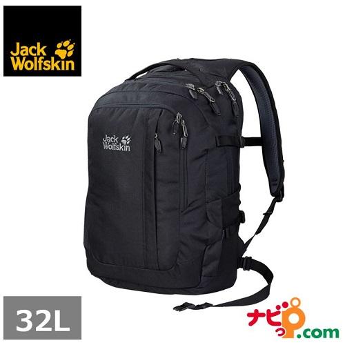 JackWolfskin ジャックウルフスキン リュック ジャックポット デラックス ブラック W2005231-6000 国内正規品