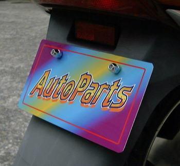ホワイトLEDナンバーボルト配線式 2コセット ビームライトBK LEDナンバーボルト 年中無休 バイク 送料無料 激安通販専門店