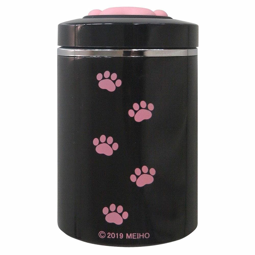 肉球 イヌ ネコ アッシュトレイ 灰皿 ドリンクホルダー型 LED付き 【送料無料】【sdrive_d19】