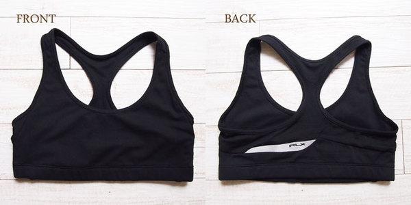 b8376d77f7 NAVIE  Ralph Lauren Ariel x dry sports bra top black