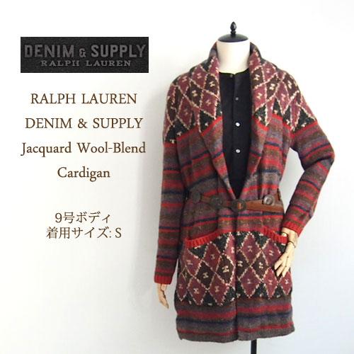 0afd3eb46 Ralph Lauren denim  amp  supply native pattern shawl collar Cardigan ...