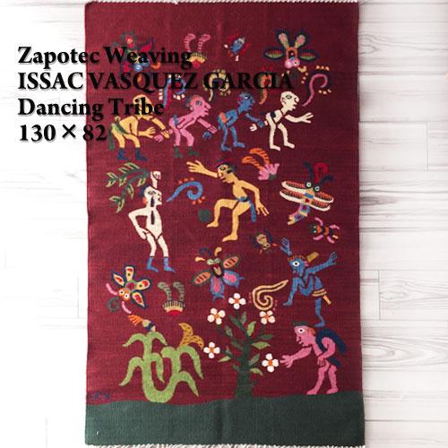 数量限定セール  【ISSAC VASQUEZ GARCIA】Zapotec Weaving メキシコ サポテック GARCIA】Zapotec VASQUEZ ラグ Weaving/DANCING TRIBE/RED/82×130【あす楽対応】, 紳士靴ブランド専門シューズアマン:4726712b --- supercanaltv.zonalivresh.dominiotemporario.com