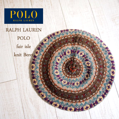 NAVIE | Rakuten Global Market: Ralph Lauren Polo fair Isle knit ...