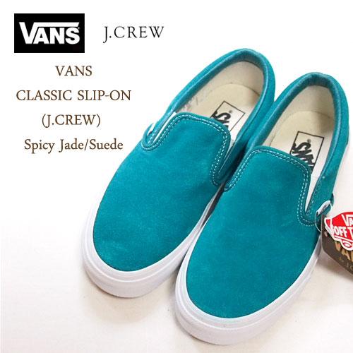 vans for j crew women's