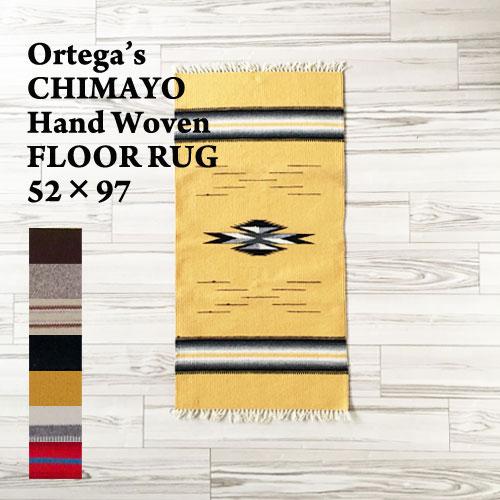 【ORTEGA'S】オルテガ チマヨ ハンドウーブン ラグ マット/52×97cm