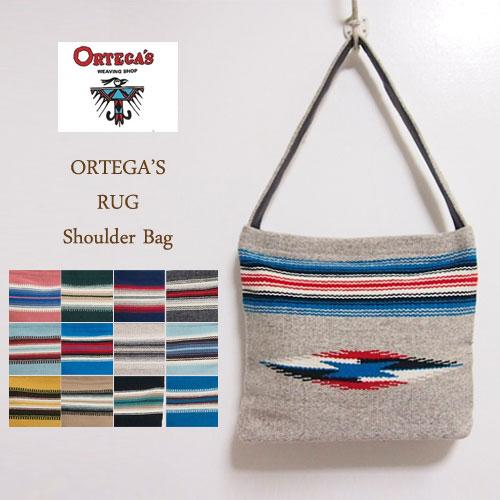 オルテガ チマヨ ハンドウーブン ラグ ショルダーバックORTEGA'S Rag Bag