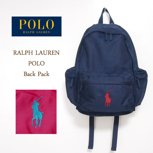 75146628fe20 ... navie ralph lauren polo vick pony bag rucksack and navy polo by ...