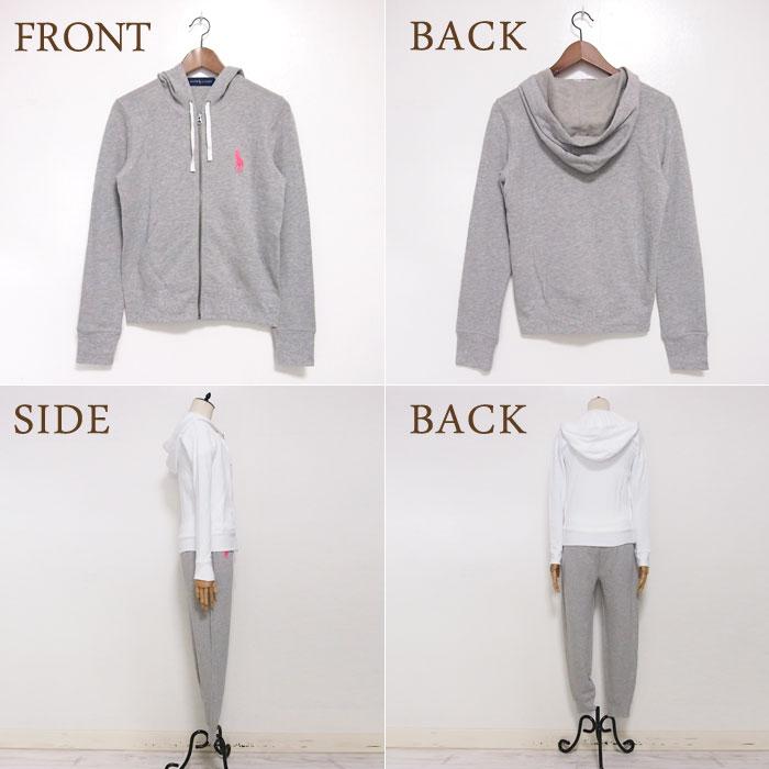 polo full zip hoodie