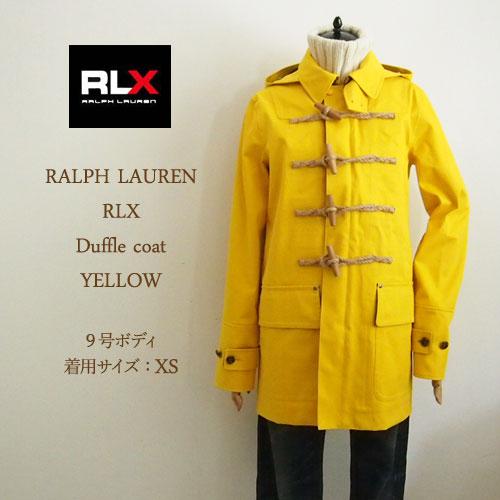ラルフローレン アールエルエックス レディース レイン ダッフルコート/イエローRLX by Ralph Lauren Coat