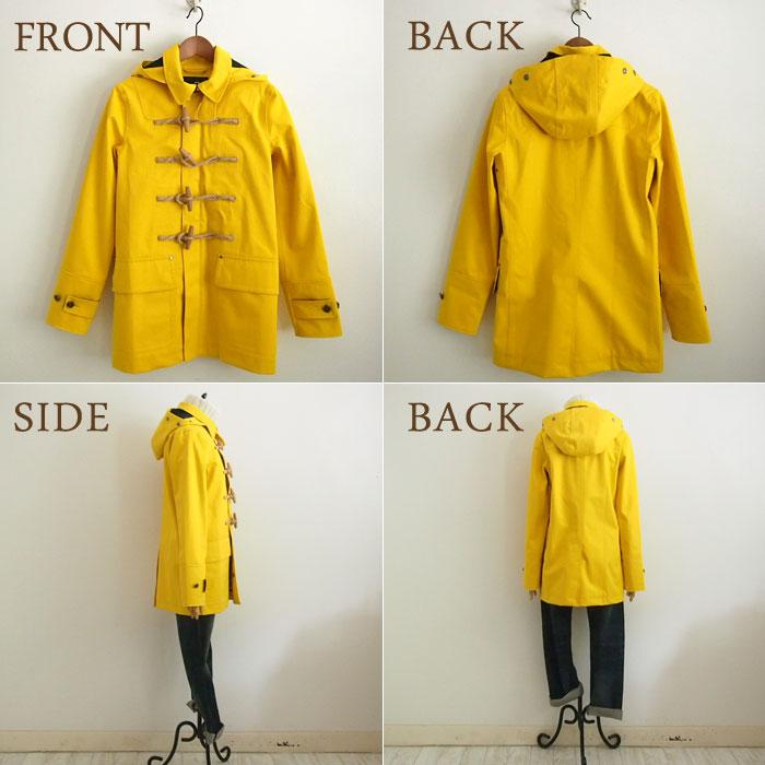 Ralph Lauren Ariel x Womens rain Duffle coat and yellow RLX by Ralph Lauren Coat
