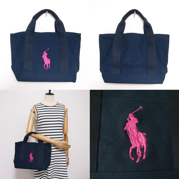 ... ralph lauren big pony canvas tote bag navy ralph lauren big pony tote  bag