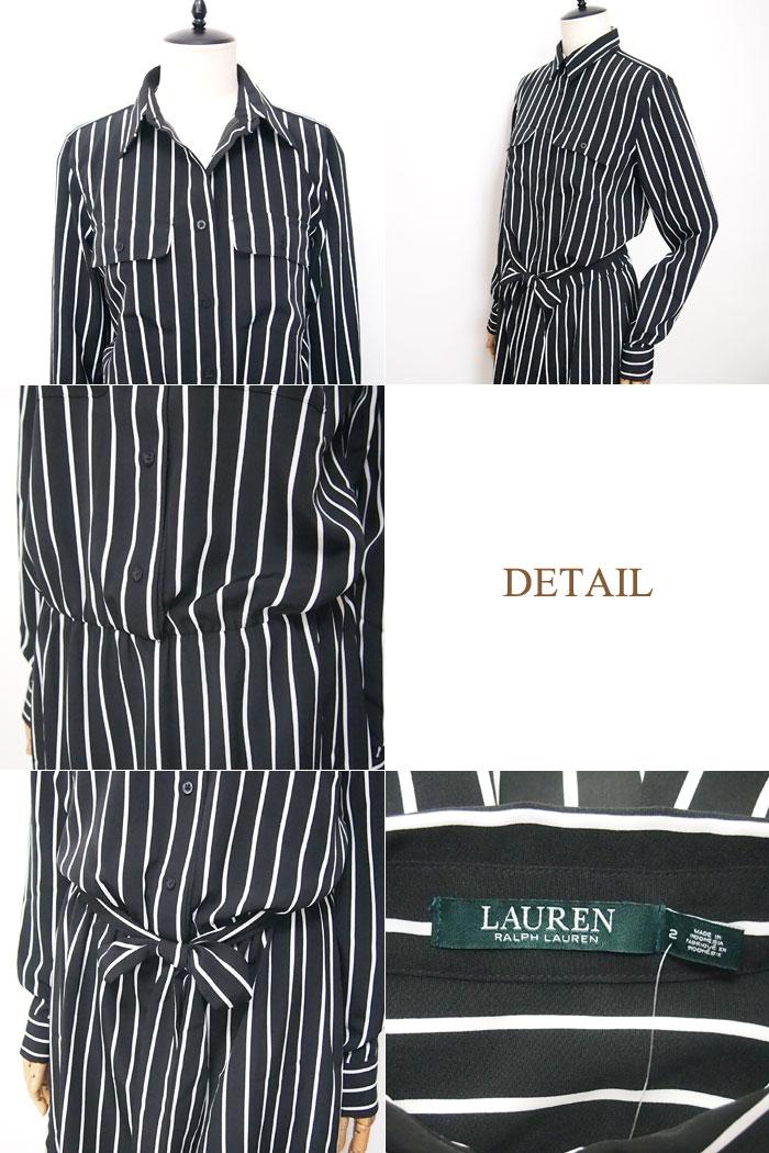 Black And White Striped Ralph Lauren Shirt
