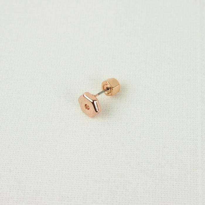 标记雅各布螺栓无环耳环/粉红黄金MARC JACOBS Bolt Stud Earrings M3PE599