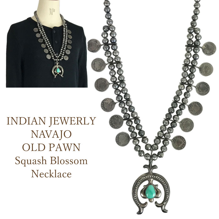 Indian Jewelry Navaho OLD PAWN NAVAJO Concho Nadja Head Necklace INDIAN JEWELRY Nacklace