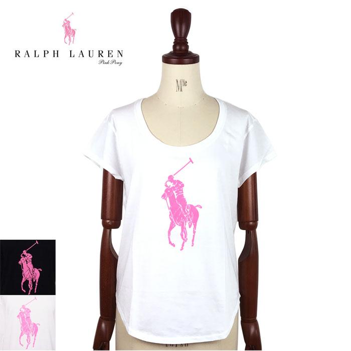 Ralph Lauren Polo Pink Pony Womens pony Pima cotton T shirts Ralph Lauren  POLO PINK PONY T-shirt