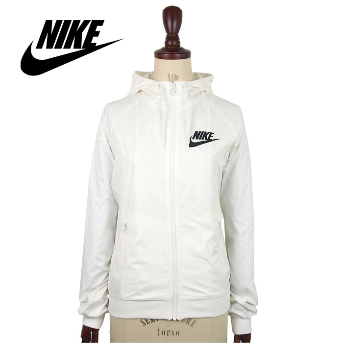 c6448d913eab NAVIE  Nike Lady s windbreaker wind runner parka   white NIKE ...