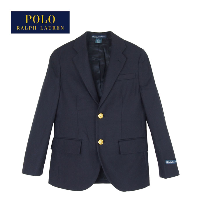 93d2e028d42df NAVIE  Ralph Lauren polo kids Boys tailored jacket blazer   navy ...