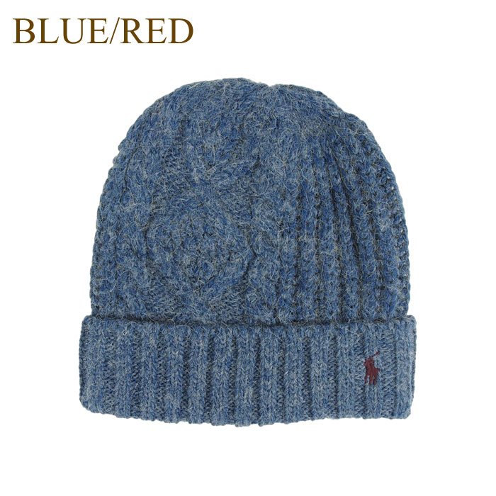 0d764f922e8 A packet to say Ralph Lauren polo pony one point embroidery cable knitting  knit hat knit cap hat   gray   blue   black POLO Ralph Lauren Knit Cap is  ...