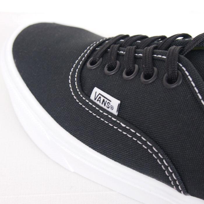61ef90737117ee Van gap Dis size authentic sneakers   black VANS LXVI ULTRACUSH Authentic  Lite Black True White
