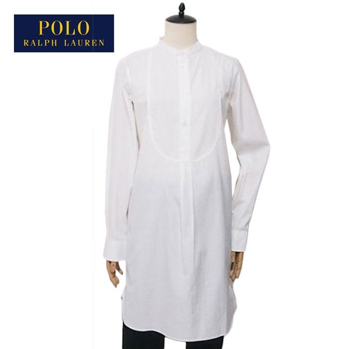 Shirt Dress Lauren Womens Collar Outlet Sale Stand White Ralph Polo c3TF1KlJ