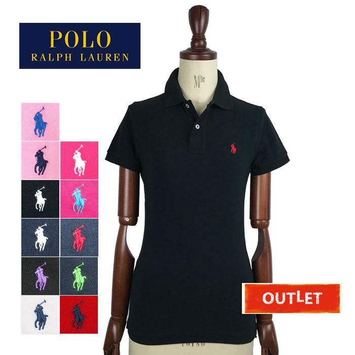 ラルフローレン レディース ワンポイント刺繍 ブランド買うならブランドオフ 信用 人気のポロシャツ スキニーフィット 難あり ポロシャツ アウトレット