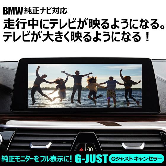 BMW10.2インチ純正ナビ用G-JUSTキャンセラー