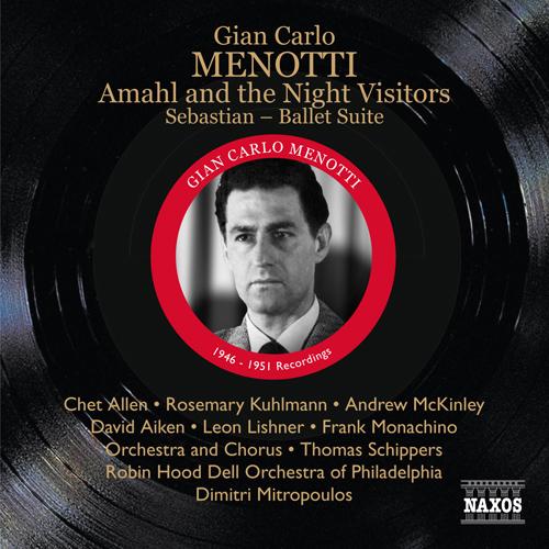 メノッティ(1911-2007):アマールと夜の訪問者
