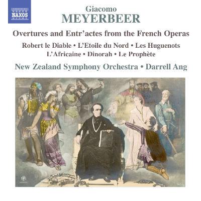 2014年6月25日発売 マイアベーア:フランス・オペラからの序曲と間奏曲集