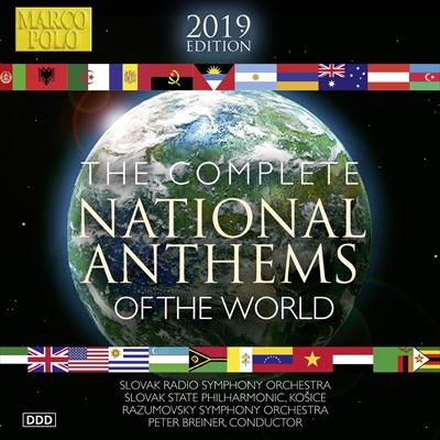 世界の国歌 2019[10枚組]