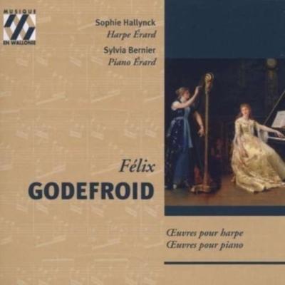 日本製 2021年09月20日まで Musique en Wallonieセール Godefroid: タイムセール Works for Bernier Sylvia Hallynck harp piano Sophie