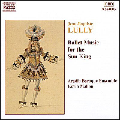 NAXOS リュリ:太陽王のためのバレエ音楽 格安SALEスタート 誕生日プレゼント アラディア マロン アンサンブル