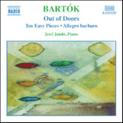 NAXOS バルトーク:ピアノ作品全集 3 予約販売品 - 野外にて ヤンドー バルバロ 10のやさしいピアノ小品 爆安 アレグロ