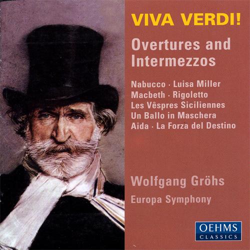 日時指定 在庫処分特価 格安店 ヴェルディ:序曲集 ヨーロッパ シンフォニー グロース