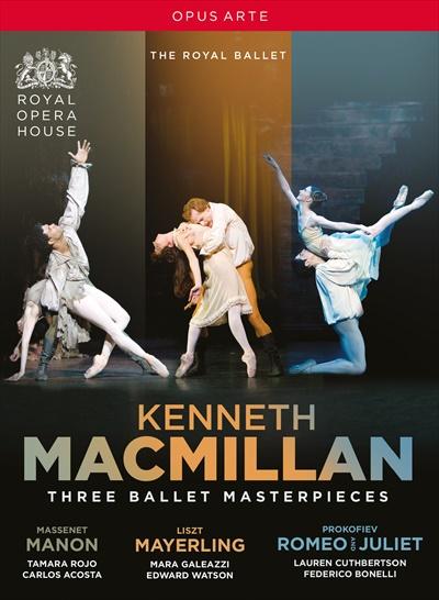 ナクソス 格安 ミュージックストア ケネス マクミラン:バレエBOX 日本全国 送料無料 《マノン》《うたかたの恋》《ロミオとジュリエット》