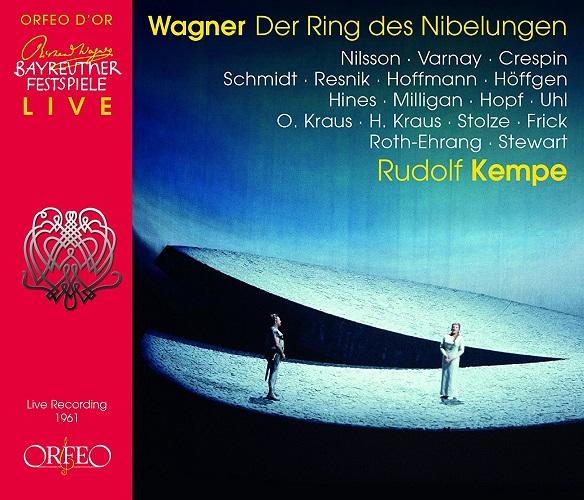 ケンペ指揮 - ワーグナー:楽劇《ニーベルングの指環》全曲[CD13枚組]