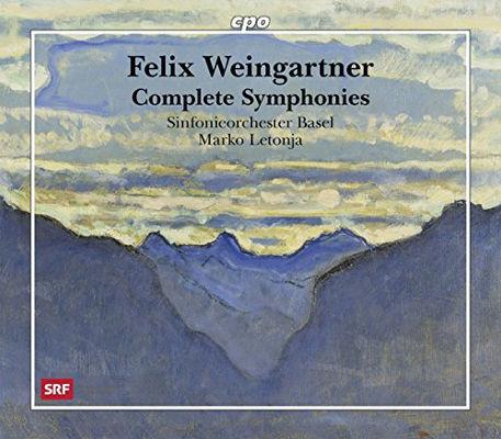 フェリックス・ヴァインガルトナー:交響曲全集&交響的作品集[SACD-Hybrid7CD]