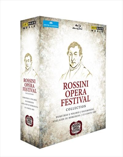 ロッシーニ:オペラ・フェスティヴァル・コレクション[Blu-ray,4Discs]