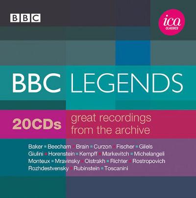 BBCレジェンド-アーカイヴからの偉大なる録音集[20CD]