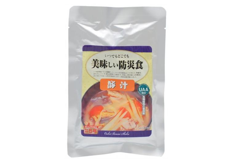 アルファフーズ UAA食品美味しい防災食R 豚汁 180g50食(代引不可)