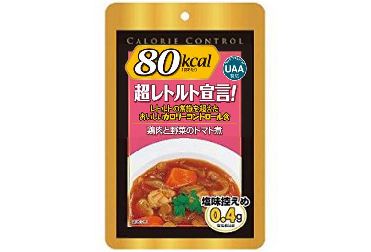 アルファフーズ UAA食品美味しい防災食R 鶏肉と野菜のトマト煮 50食(代引不可)