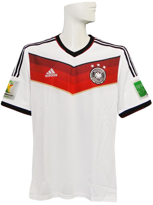【送料無料】(アディダス) adidas/14/15ドイツ代表/ホーム/半袖/AE136/ワールドカップバッジ付/フルマーキング仕様/G87445