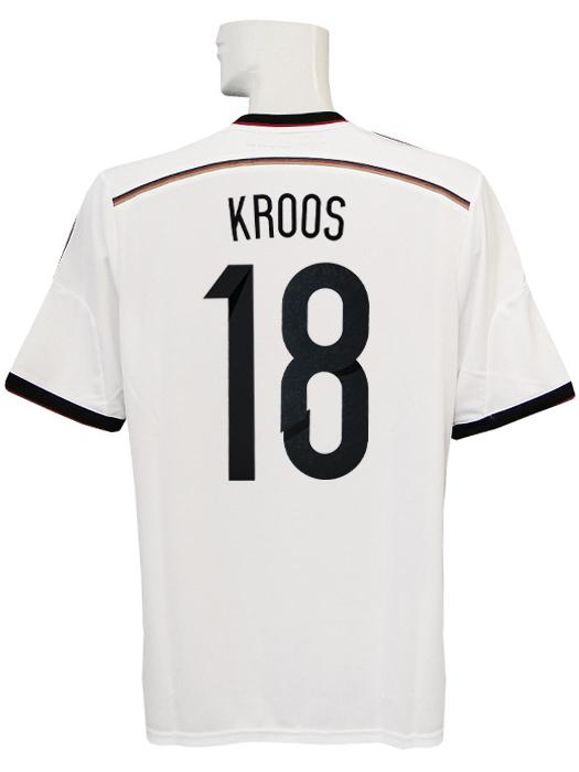 【送料無料】(アディダス) adidas/14/15ドイツ代表/ホーム/半袖/AE136/クロース/ワールドカップバッジ付/フルマーキング仕様/G87445