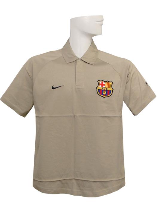 (ナイキ) NIKE/バルセロナ/ポロシャツ/ベージュ/112602-200/簡易配送(CARDのみ送料注文後変更/1点限/保障無):ネイバーズスポーツ