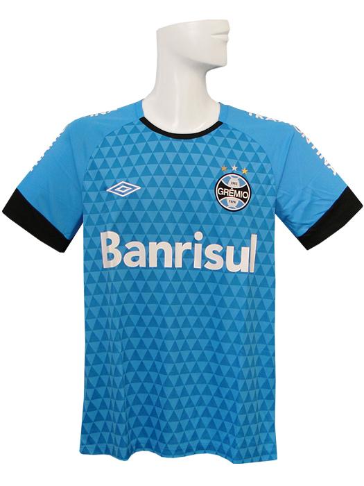 Limited stock * * * (Umbro) UMBRO/2015 and Grêmio / training shirt  short-sleeved blue / 602774