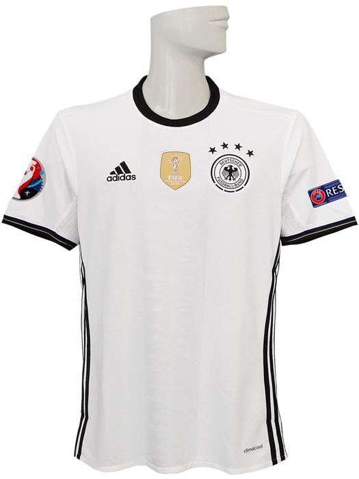 【送料無料】(アディダス) adidas/16/17ドイツ代表/ホーム/半袖/EURO2016バッジ+RESPECTバッジ付/BDY47-AI5014