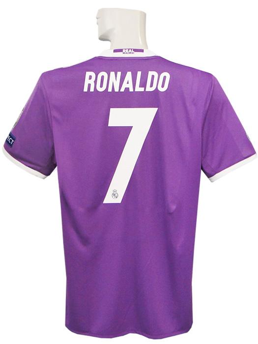 879c9162c (Adidas) adidas 16 17 Real Madrid  CL  away   short sleeves   Ronaldo    final match detail   full marking  BEA53-AI5158