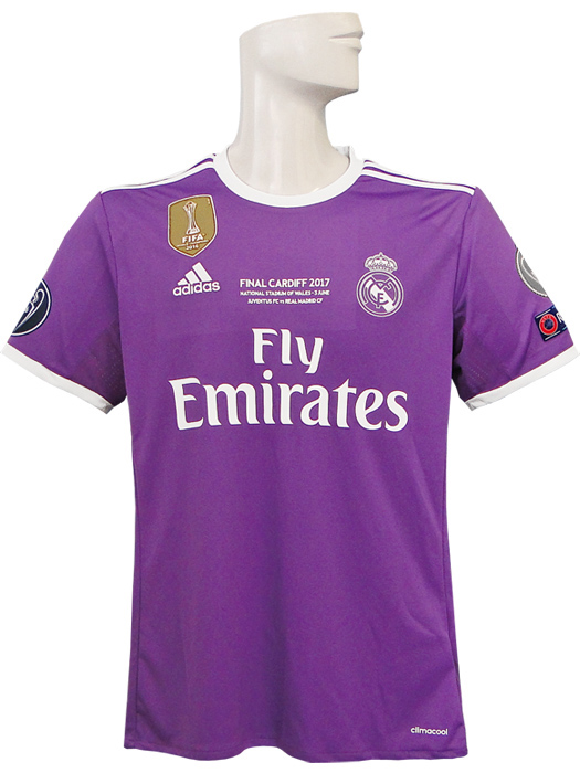 68061fb67 (Adidas)   full marking specifications  BEA53-AI5158-CL-FINAL belonging to  adidas 16 17 Real Madrid  CL  away   short sleeves  CL final マッチーデー