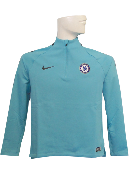 wholesale dealer aed8e 60192 (Nike) / omega blue X アンスラサイト /905378-451 for the NIKE/17/18 Chelsea /SQUAD  DRI-FIT long sleeves drill top / youth