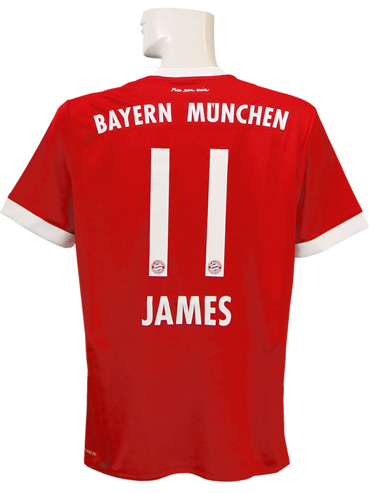 c117ba61ff6 (Adidas) adidas/17/18 Bayern / home / short sleeves / James Rodriguez  /TS0614-AZ7961