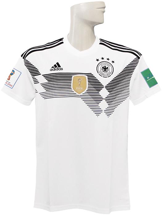 【送料無料】(アディダス) adidas/18/19ドイツ代表/ホーム/半袖/2018ワールドカップバッジ+LIVING FOOTBALLバッジ付/DTV68-BR7843